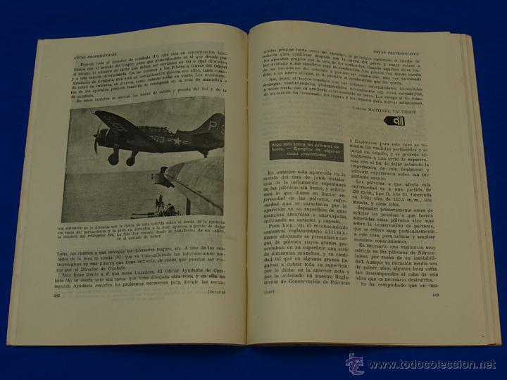 Militaria: REVISTA GENERAL DE LA MARINA. OCTUBRE [AÑO] 1948. [pertenece a] TOMO 135. E. M. de la Armada - Foto 5 - 47614223