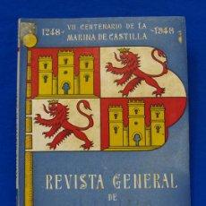 Militaria: REVISTA GENERAL DE LA MARINA. SEPTIEMBRE [AÑO] 1948. [PERTENECE A] TOMO 135. E. M. DE LA ARMADA. Lote 47614269