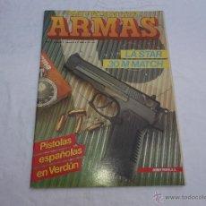 Militaria: ARMAS Nº 44. PISTOLAS ESPAÑOLAS . TRABUCOS. LAS STAR 30 M MATCH. LAS BAYONETAS EN EL MUNDO. LANZAGRA. Lote 82983859