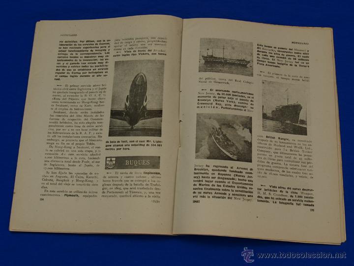 Militaria: REVISTA GENERAL DE LA MARINA. JULIO [AÑO] 1948. [pertenece a] TOMO 135. E. M. de la Armada - Foto 6 - 47630049