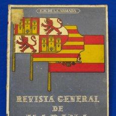 Militaria: REVISTA GENERAL DE LA MARINA. MARZO [AÑO] 1949. [PERTENECE A] TOMO 136. E. M. DE LA ARMADA. Lote 47637020