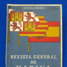 Militaria: REVISTA GENERAL DE LA MARINA. MARZO [AÑO] 1950. [PERTENECE A] TOMO 138. E. M. DE LA ARMADA. Lote 47679797