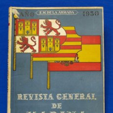 Militaria: REVISTA GENERAL DE LA MARINA. ENERO [AÑO] 1950. [PERTENECE A] TOMO 138. E. M. DE LA ARMADA. Lote 47679994