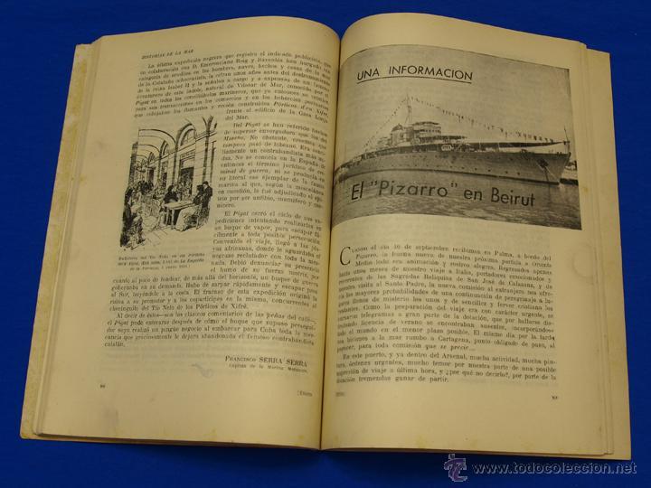 Militaria: REVISTA GENERAL DE LA MARINA. ENERO [AÑO] 1950. [pertenece a] TOMO 138. E. M. de la Armada - Foto 6 - 47679994