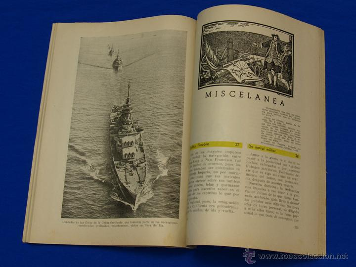 Militaria: REVISTA GENERAL DE LA MARINA. AGOSTO [AÑO] 1949. [pertenece a] TOMO 137. E. M. de la Armada - Foto 6 - 47680100