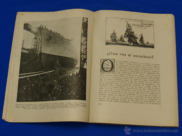 Militaria: REVISTA GENERAL DE LA MARINA. ENERO [AÑO] 1948. [pertenece a] TOMO 134. E. M. de la Armada - Foto 5 - 47680358