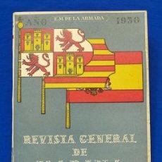 Militaria: REVISTA GENERAL DE LA MARINA. DICIEMBRE [AÑO] 1950. [PERTENECE A] TOMO 139. E. M. DE LA ARMADA. Lote 47680465