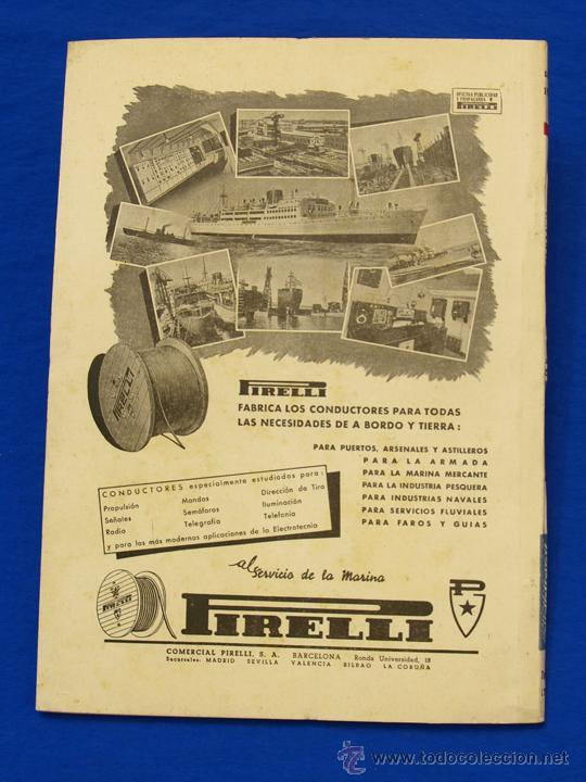 Militaria: REVISTA GENERAL DE LA MARINA. DICIEMBRE [AÑO] 1950. [pertenece a] TOMO 139. E. M. de la Armada - Foto 2 - 47680465