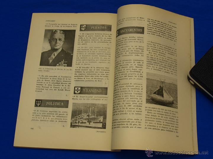 Militaria: REVISTA GENERAL DE LA MARINA. NOVIEMBRE [AÑO] 1950. [pertenece a] TOMO 139. E. M. de la Armada - Foto 6 - 47680554