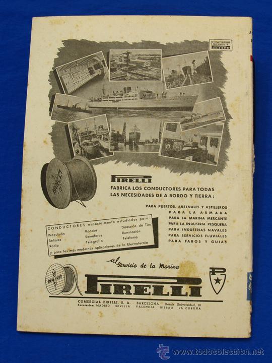 Militaria: REVISTA GENERAL DE LA MARINA. AGOSTO [AÑO] 1950. [pertenece a] TOMO 138. E. M. de la Armada - Foto 2 - 47680794