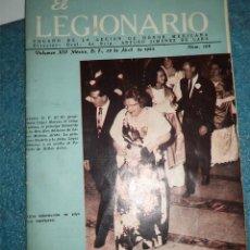 Militaria: EL LEGIONARIO ÓRGANO DE LA LEGIÓN DE HONOR MEXICANA 1.964 REVISTA N.º 158 RUSTICA 80 PAGINAS . Lote 48107851