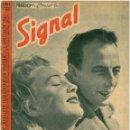 Militaria: SIGNAL - REVISTA DE PROPAGANDA ALEMANA WWII. Lote 48157192