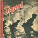 Militaria: SIGNAL - REVISTA DE PROPAGANDA ALEMANA WWII. Lote 48157257