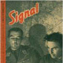 Militaria: SIGNAL - REVISTA DE PROPAGANDA ALEMANA WWII. Lote 48157278