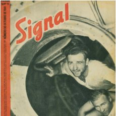 Militaria: SIGNAL - REVISTA DE PROPAGANDA ALEMANA WWII. Lote 48157300