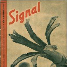 Militaria: SIGNAL - REVISTA DE PROPAGANDA ALEMANA WWII. Lote 48157335