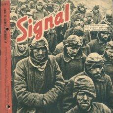 Militaria: SIGNAL - REVISTA DE PROPAGANDA ALEMANA WWII. Lote 48157413