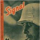 Militaria: SIGNAL - REVISTA DE PROPAGANDA ALEMANA WWII. Lote 48157447