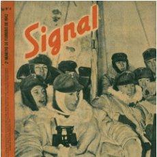 Militaria: SIGNAL - REVISTA DE PROPAGANDA ALEMANA WWII. Lote 48157465
