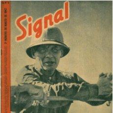 Militaria: SIGNAL - REVISTA DE PROPAGANDA ALEMANA WWII. Lote 48157494