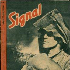 Militaria: SIGNAL - REVISTA DE PROPAGANDA ALEMANA WWII. Lote 48157508