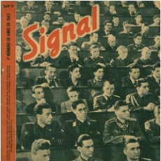 Militaria: SIGNAL - REVISTA DE PROPAGANDA ALEMANA WWII. Lote 48157758