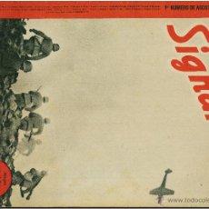 Militaria: SIGNAL - REVISTA DE PROPAGANDA ALEMANA WWII. Lote 48157884