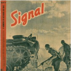 Militaria: SIGNAL - REVISTA DE PROPAGANDA ALEMANA WWII. Lote 48157967