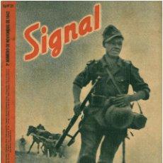 Militaria: SIGNAL - REVISTA DE PROPAGANDA ALEMANA WWII. Lote 48158022