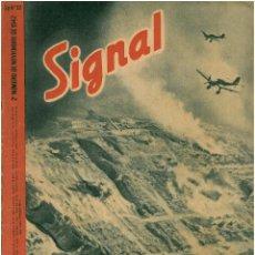 Militaria: SIGNAL - REVISTA DE PROPAGANDA ALEMANA WWII. Lote 48158118