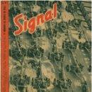 Militaria: SIGNAL - REVISTA DE PROPAGANDA ALEMANA WWII. Lote 48158138