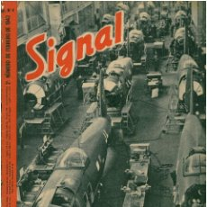 Militaria: SIGNAL - REVISTA DE PROPAGANDA ALEMANA WWII. Lote 48158224