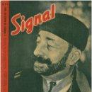 Militaria: SIGNAL - REVISTA DE PROPAGANDA ALEMANA WWII. Lote 48158255