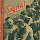 Militaria: SIGNAL - REVISTA DE PROPAGANDA ALEMANA WWII. Lote 48158592