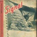 Militaria: SIGNAL - REVISTA DE PROPAGANDA ALEMANA WWII. Lote 48158664