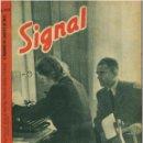 Militaria: SIGNAL - REVISTA DE PROPAGANDA ALEMANA WWII. Lote 48158709