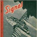 Militaria: SIGNAL - REVISTA DE PROPAGANDA ALEMANA WWII. Lote 48158883
