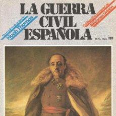 Militaria: LA GUERRA CÍVIL ESPAÑOLA EDICIONES URBIÓN 1980 OBRA HUGH THOMAS FASCÍCULO Nº 110. Lote 48218999