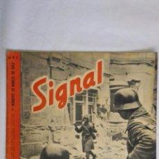 Militaria: REVISTA SIGNAL Nº 5 MARZO 1942, LLEGA EL PRIMERO. Lote 48719240