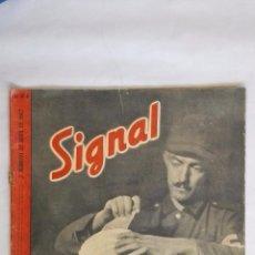 Militaria: REVISTA SIGNAL Nº 8 ABRIL 1942, TAMBIEN EL CUENTA. Lote 48719586