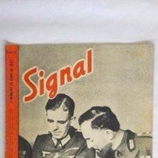 Militaria: REVISTA SIGNAL Nº 12 JUNIO 1942, COMPAÑEROS DE ARMAS. Lote 48722239