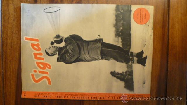 REVISTA SIGNAL 3/ 1940 FR ED PERFECTO (Militar - Revistas y Periódicos Militares)