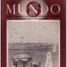 Militaria: MUNDO Nº 50. MADRID, 20 ABRIL 1941. Lote 49304605