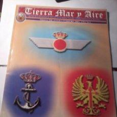 Militaria: REVISTA, TIERRA MAR Y AIRE NÚMERO 260 ENERO FEBRERO 2003. B9R. Lote 49385513