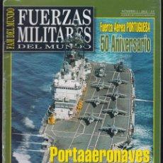 Militaria: FAM , FUERZAS MILITARES DEL MUNDO, LOTE 72 EJEMPLARES - REVISTA MILITAR. Lote 49851309