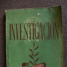 Militaria: INVESTIGACIÓN REVISTA PROFESIONAL DE LA POLICIA ESPAÑOLA N°268 MAYO1950. Lote 49911055