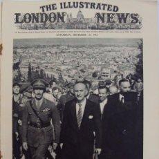 Militaria: THE ILLUSTRATED LONDON NEWS. (EN INGLES), II GUERRA MUNDIAL 16 DICIEMBRE 1944. . Lote 50404276