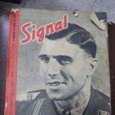Militaria: REVISTA SIGNAL. 1º NUM. DE NOVIEMBRE 1943. ALARMA EN TUNEZ, PRIMOZIC. LEER. Lote 51576201