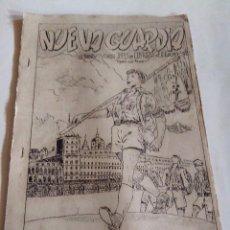Militaria: REVISTA NUEVA GUARDIA - FALANGE - AGOSTO 1950. Lote 51586976