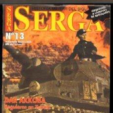 Militaria: REVISTA SERGA Nº13. DAR AKKOBA. REGULARES EN YEBALA HM-086. Lote 183472635